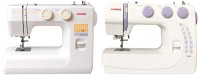 швейные машины Janome и Brother