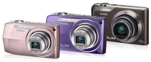цифровые фотоаппараты Casio Exilim