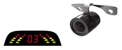Парковочные радары, камеры заднего вида ParkCity