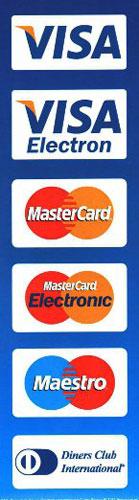 возможность оплаты банковской картой