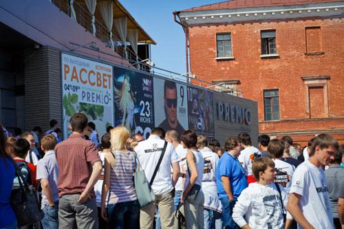 Время Танков в Нижнем Новгороде