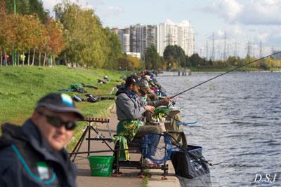 Команда рыбной ловли на фидер PELICAN-FT-Ситилинк участвует в чемпионате Кубок памяти Чулкова С. А
