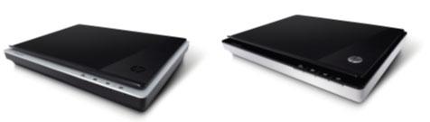 планшетные фотоcканеры  HP Scanjet 200 и 300