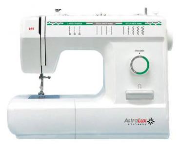 Швейные машины торговой марки AstraLux