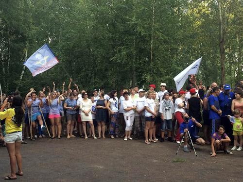 Туристический слет в Ивановской области